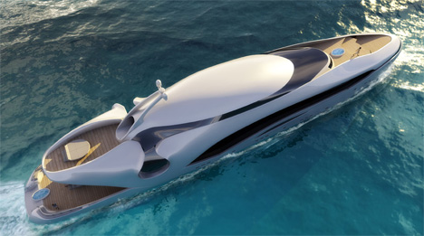 oculus Oculus By Kevin Schöpfer: Luxury Yacht Or Mechanical Whale?