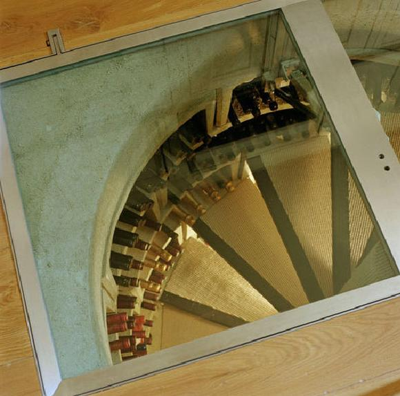 Spiral wine cellars through the 30 000 trapdoor in your for Spiral wine cellar cost