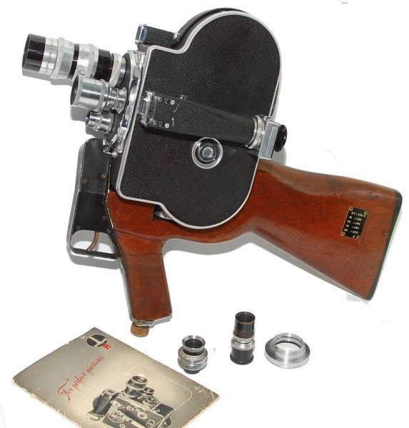 Paillard Bolex H8 Military gun 115331
