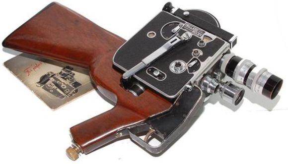 Paillard Bolex H8 Military gun