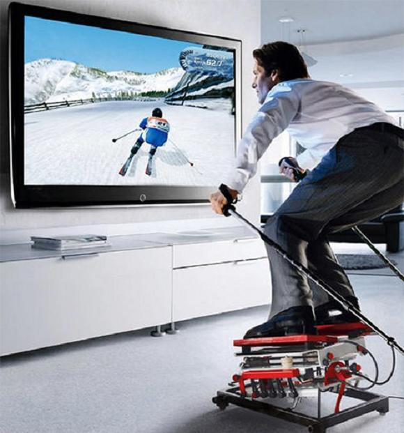 ski-home-simulator
