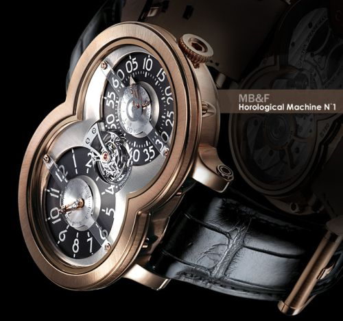 MB&F's Third Horological Watch A Smash Hit Too!