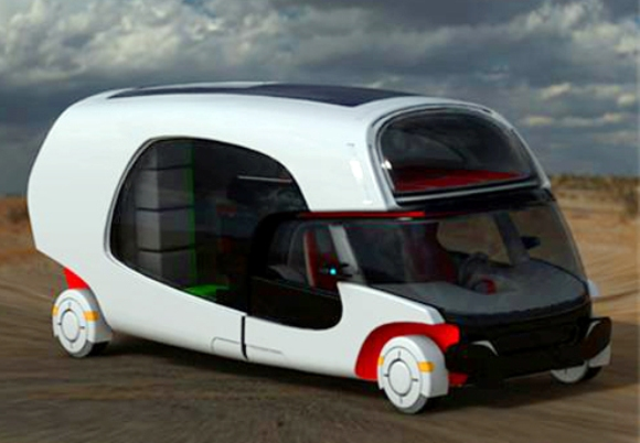 colim rv concept Colim Combination Car/Camper: Stylish And Luxurious