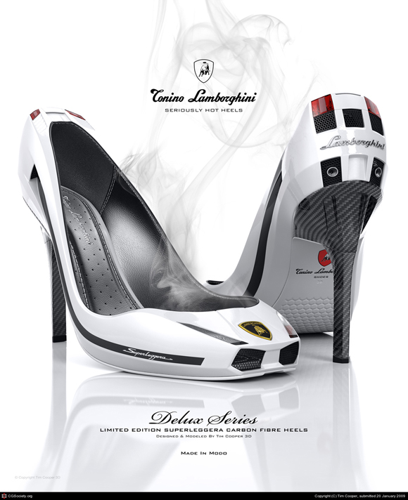 Lamborghini Gallardo stilettos