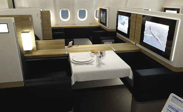 swiss air suite SWISS First Class cabin: Redefining In flight Luxury