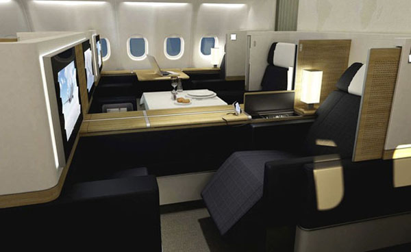 swiss air suite2 SWISS First Class cabin: Redefining In flight Luxury