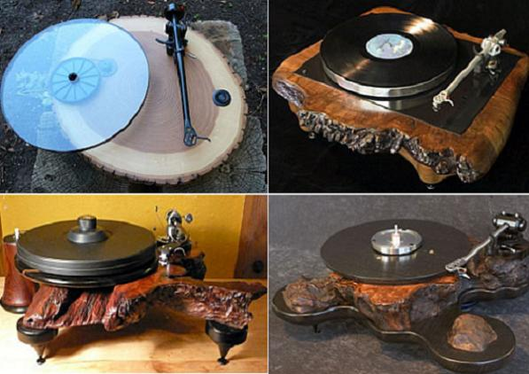 audiowood vinyl Audiowood Is The First Turntable Made In Burl Wood