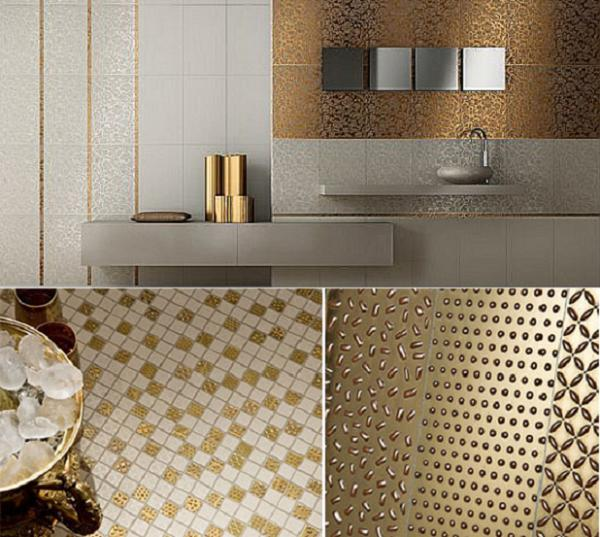 New Luxurious Italian Tiles Gold Tiles