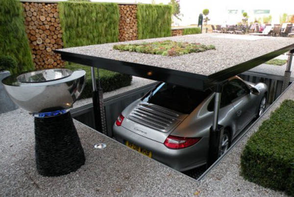 Cardok Futuristic Pop up Garage Elite Choice