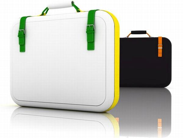 Ceramic and Carbon Fiber Laptop Bags