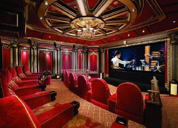 Cinema de la mer promises movie theater exotica elite choice Home movie theater