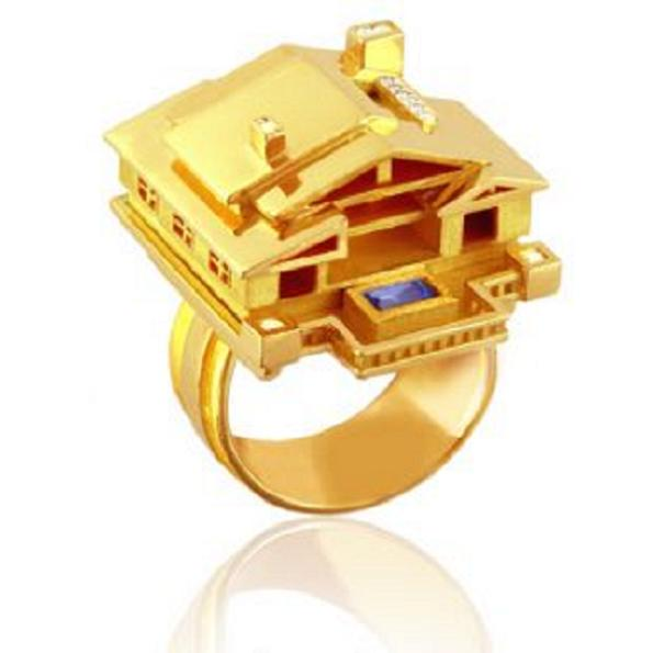 arton Wear Your Fave Building On Your Finger With Tournaire Rings