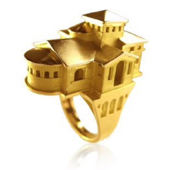 arton1 Wear Your Fave Building On Your Finger With Tournaire Rings