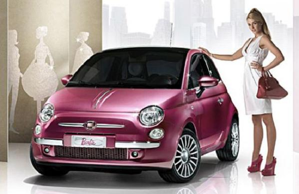 2009 Fiat 500 Barbie Concept. fiat 500 barbie 1 Some More