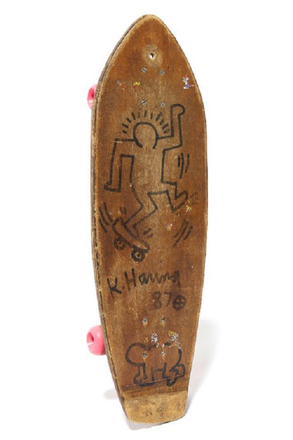 keith-haring-skateboard