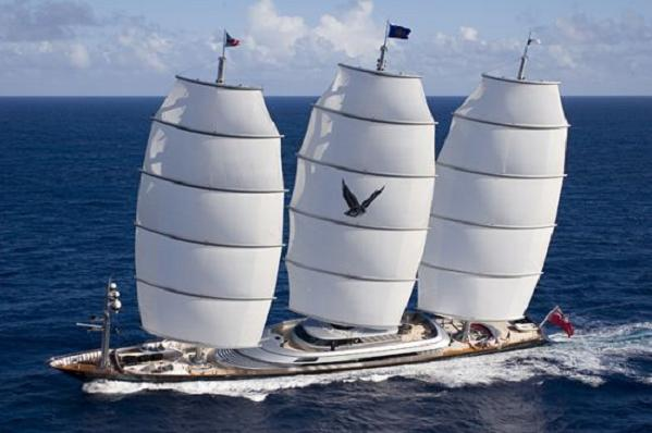 maltese falcon The Fastest & Longest Yacht, Maltese Falcons Up For Sale