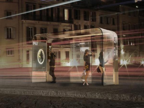 solar-powered-bus-stop-night