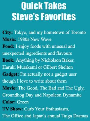 steve_favorites
