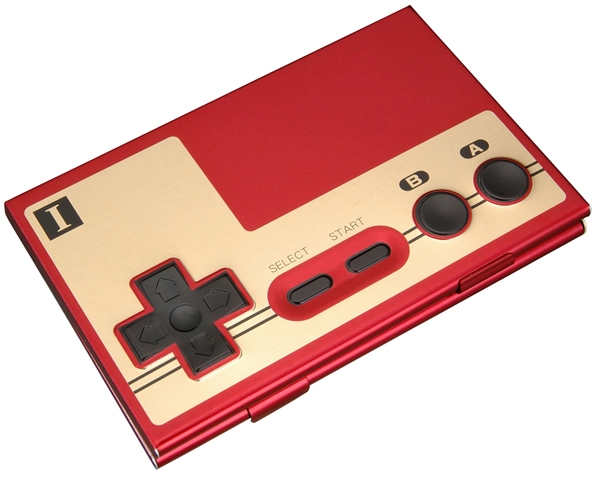 NES controller type card case