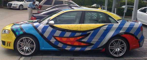 Romero Britto Pop Art Romero Britto Gives the Bentley a Pop Art Touch
