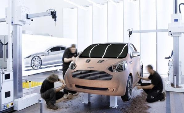cygnet Aston Martin Brings The Cygnet Concept For City Driving