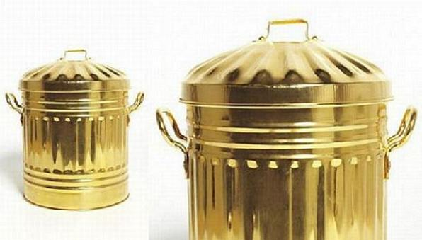 sylvie-fleurys-gold-plated-trash-can