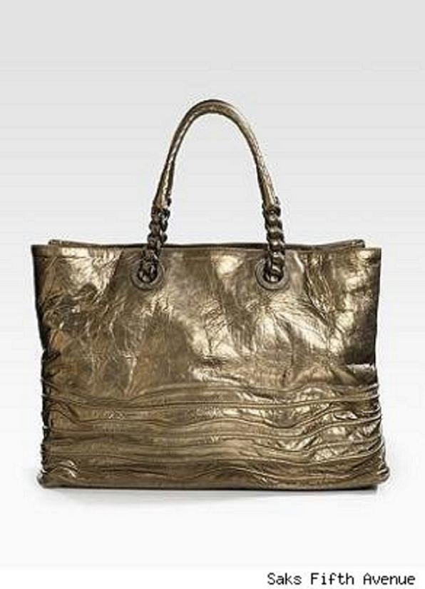 bottega veneta metallic