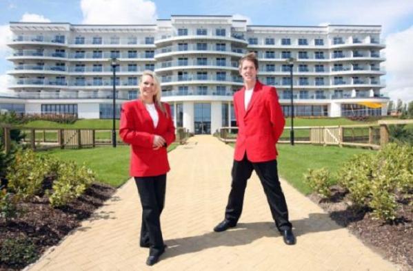Butlins Ocean Hotel Exterior Redcoats