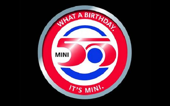 mini 50th birthday Mini Lives In Our Hearts For 50 Glorious Years & More