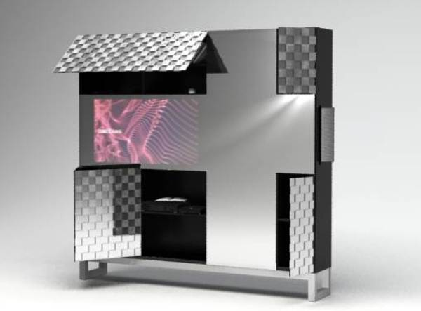 design cube1 CUBE TV Cabinet By Dalcans Design May Be The Best Of The Lot