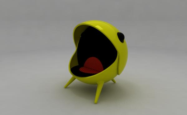 pacman chair nostalgic gaming chair by jose jorge