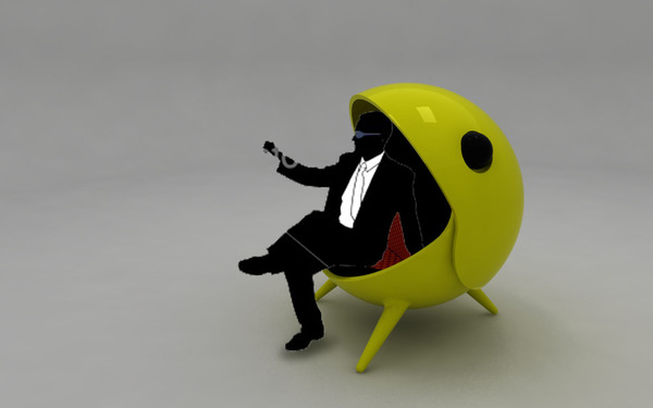 pacman chair