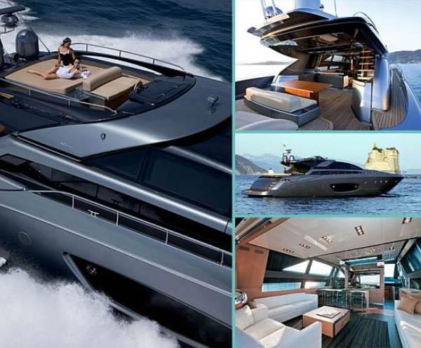 riva 86 Domino Luxury Yacht From Riva