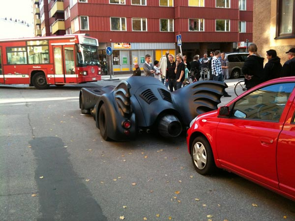 Batmobile in Stockholm