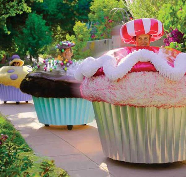 Giant Cupcake Car