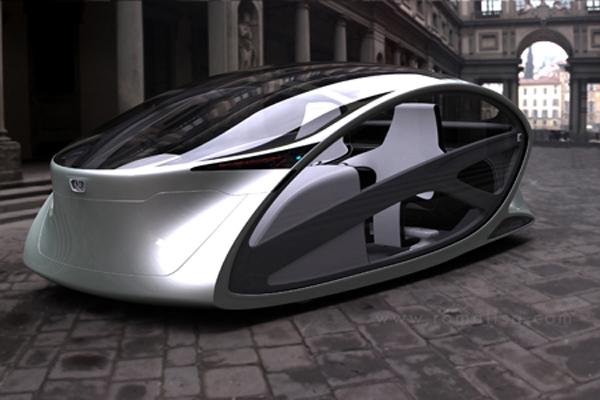 Metromorph Concept Balcony Car