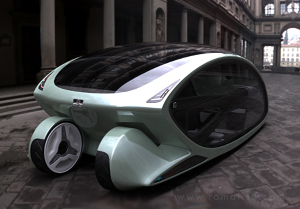 Metromorph Concept Car with Balcony