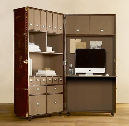 Mayfair Steamer Secretary Trunk Portable Office