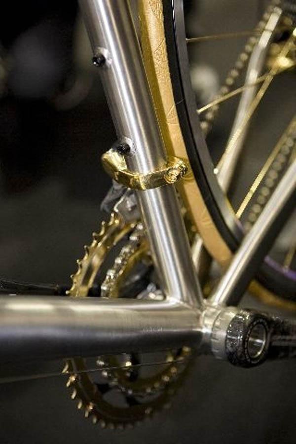 Titanium Bicycle Anniversary Gift