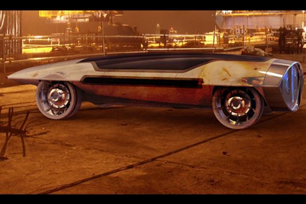 Saucer Car Concept