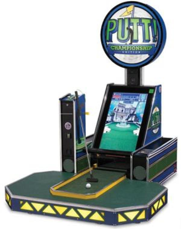 video-arcade-miniature-golf-game
