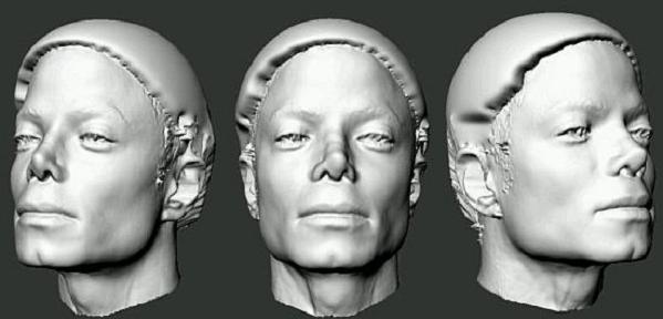 Michael Jackson 3D Scan