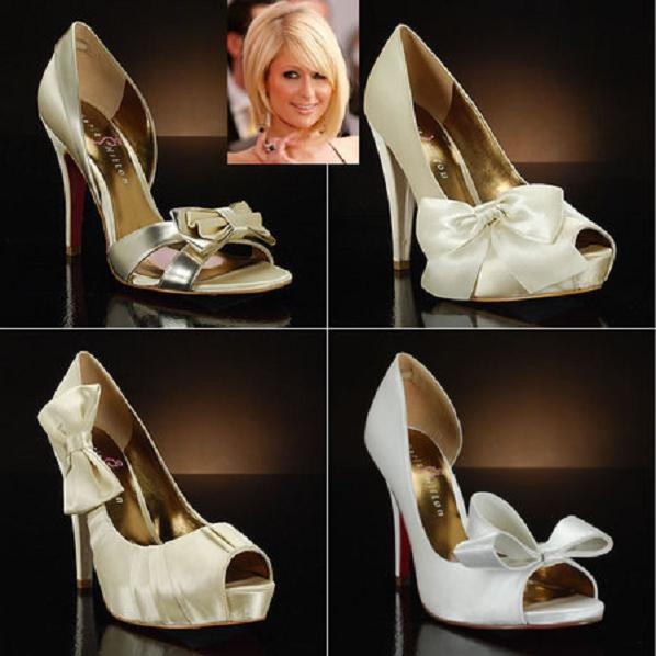 Paris_hiltons_bridal_footwear_collection