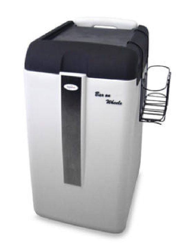 Rechargeable Cooler Enjoy Your Parties with Wine Enthusiast Koolatron Rechargeable Bar On Wheels