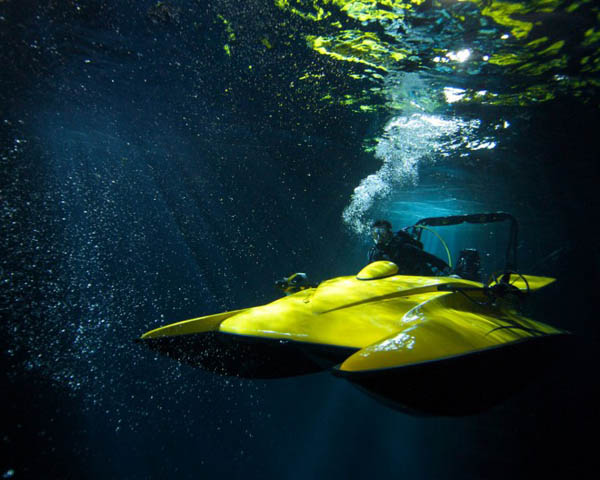 Scuba Craft1 ScubaCraft for a Thrill Ride Under Water