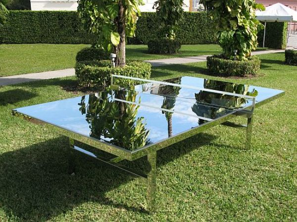 ping pong table $55,000 Ping Pong Table By Rirkrit Tiravanija Is Exceptionally Beautiful!
