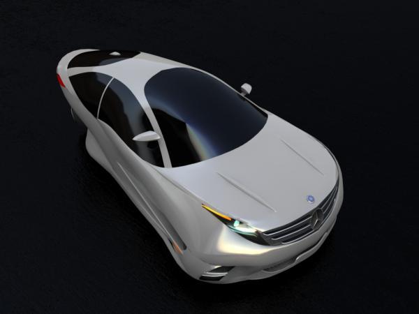 Mohammad Morassafar Designs Mercedes-Benz Archimed Concept