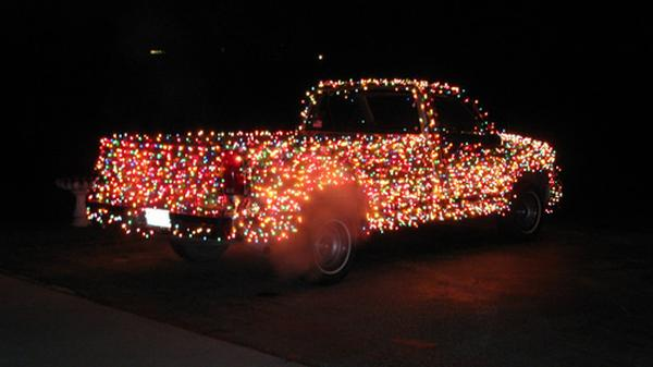 christmas truck 3