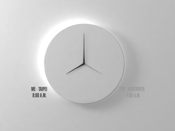 longd 2 Long D: Kit Men Keungs Answer to Ultra modern Wall Clocks