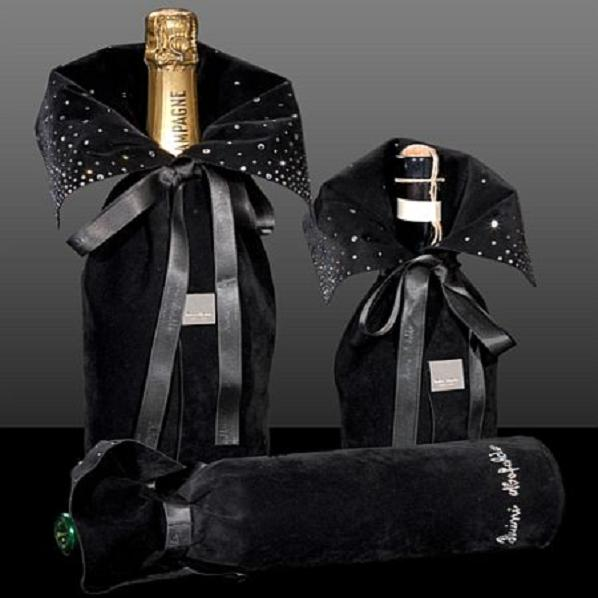 Праздничная одежка для бутылки - Luxury-info.ru Портал о мире роскоши
